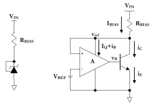 understanding voltage references  simple current sink