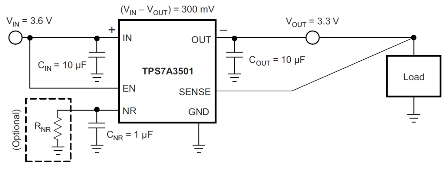 How To Filter Out Noise In Your Dc Design Power House Blogs Circuit Reduction Cnr And The Input Output Capacitor Are Present As Well This Solution Can Be Attractive For Its Small Pcb Footprint
