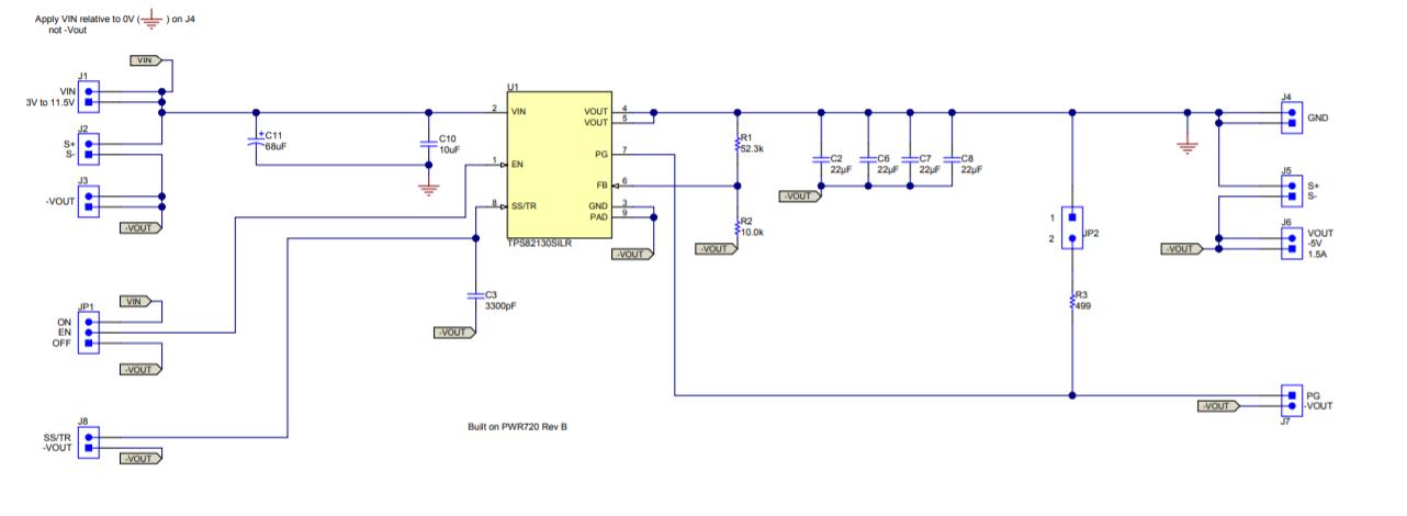 how to modify a step down converter to the inverting buck boost rh e2e ti com