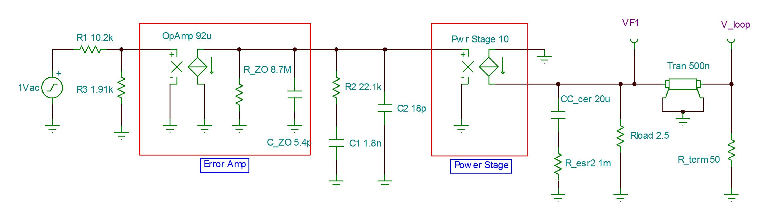 Power Tips Using A Simple Spice Model To Simulate Buck Control Voltage Controlled Capacitors And Inductors Current Sources Both Gains Adding Lossless Transmission Line The Output Introduces Phase Lag Improving Accuracy At