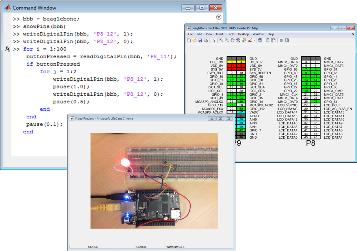 learn how to program beaglebone black with matlab and simulink