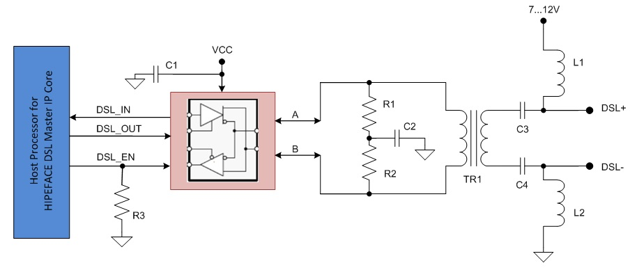 Design an EMC-compliant interface to motor position encoders ... on