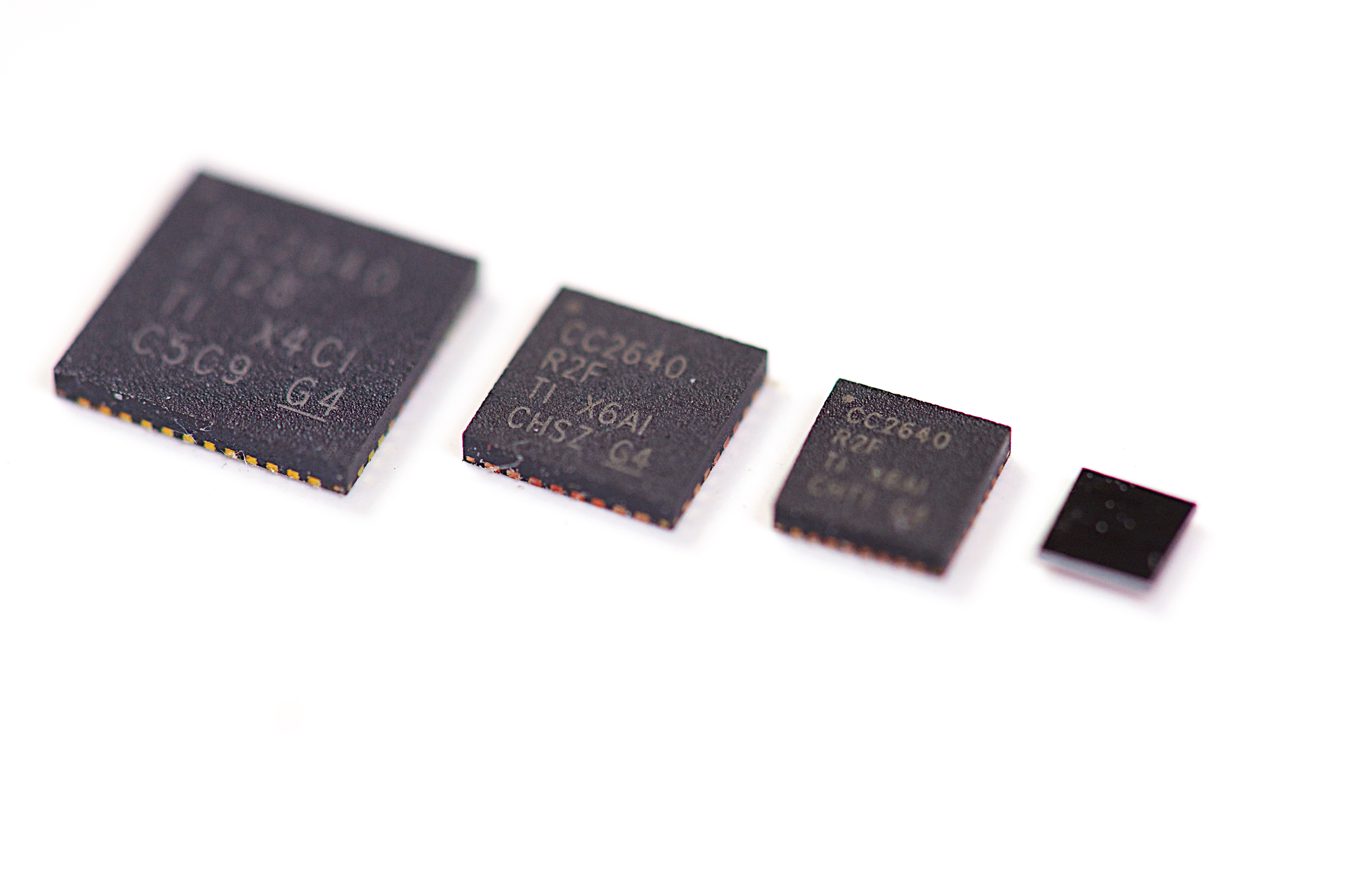 The Secret To Moving Faster With Bluetooth 5 Connecting Highspeed Amplifier Circuits Analog Wire Blogs Ti E2e Community Figure 1 Package Sizes For Cc2640r2f Wireless Mcu