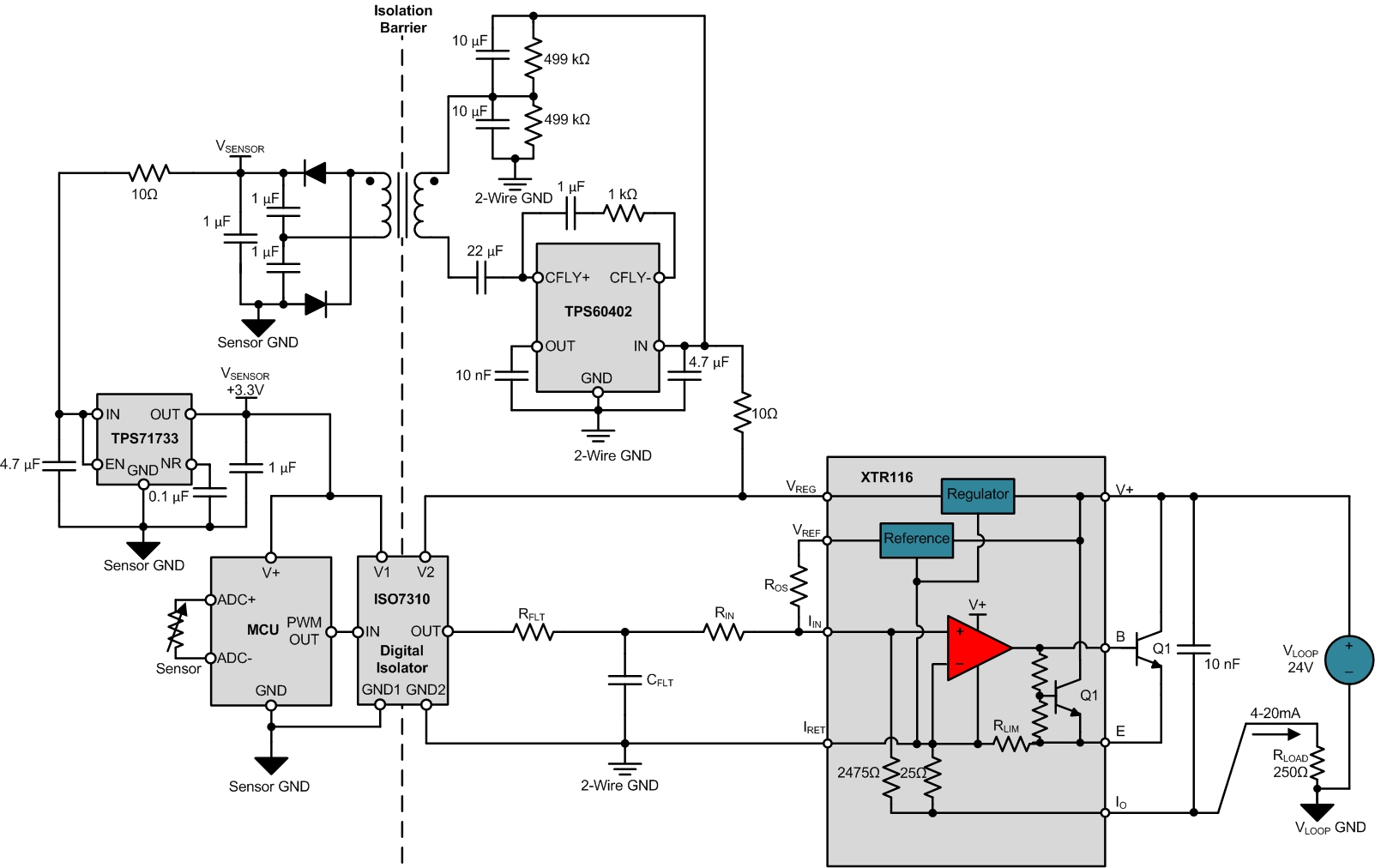2-wire 4-20mA sensor transmitters: Designing Input Isolated 2-Wire ...
