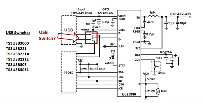 How to protect your epos processor from short circuits in 9v usb figure 1 typical application diagram for an application using usb and a charger ccuart Image collections