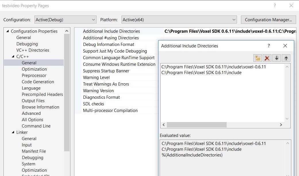 Compiler/OPT8241-CDK-EVM: Read depth camera using Visual