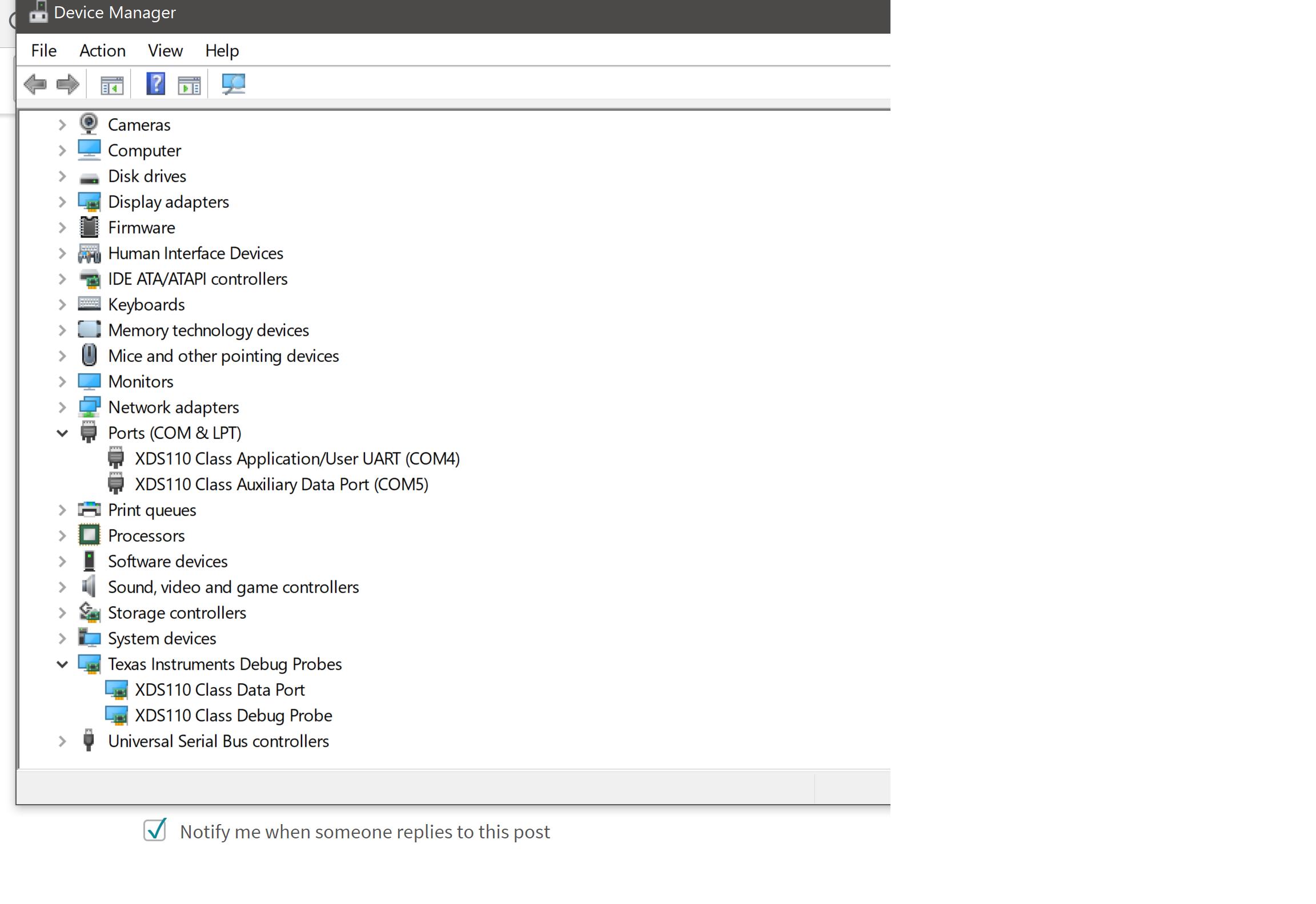 Resolved] IWR1443BOOST: mmWave Studio Error after starting
