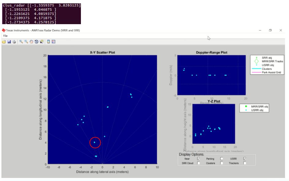 AWR1843: MRR demo radar distance error - Sensors forum
