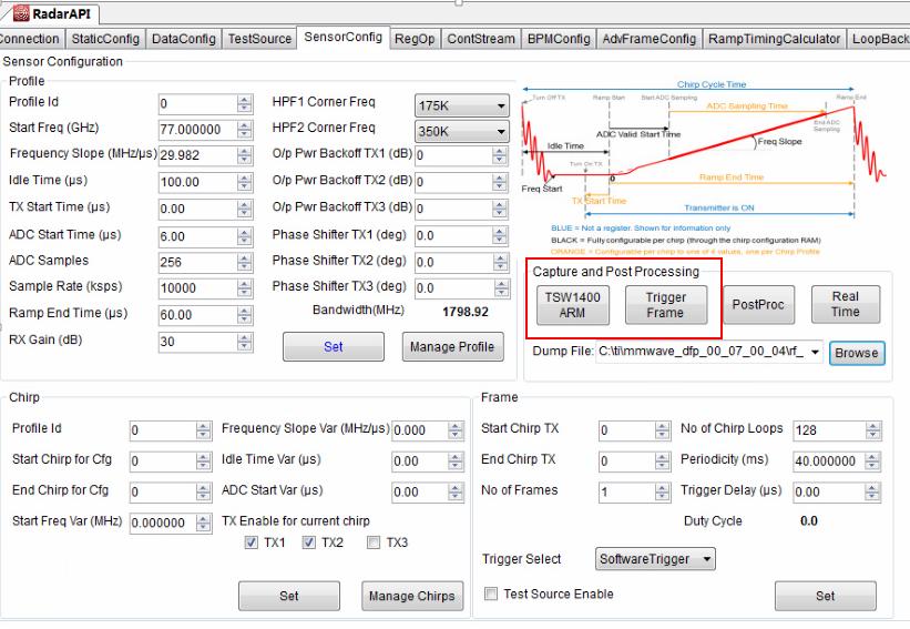 Resolved] IWR1443: Radar Studio Documentations for Lua