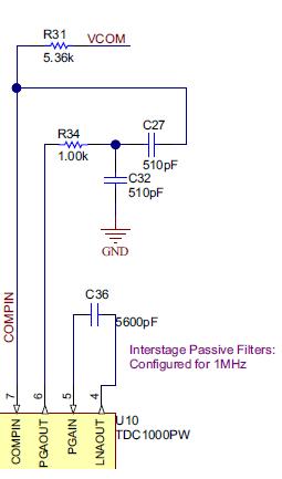 Resolved] TDC1000-GASEVM: Change filter limits - Sensors