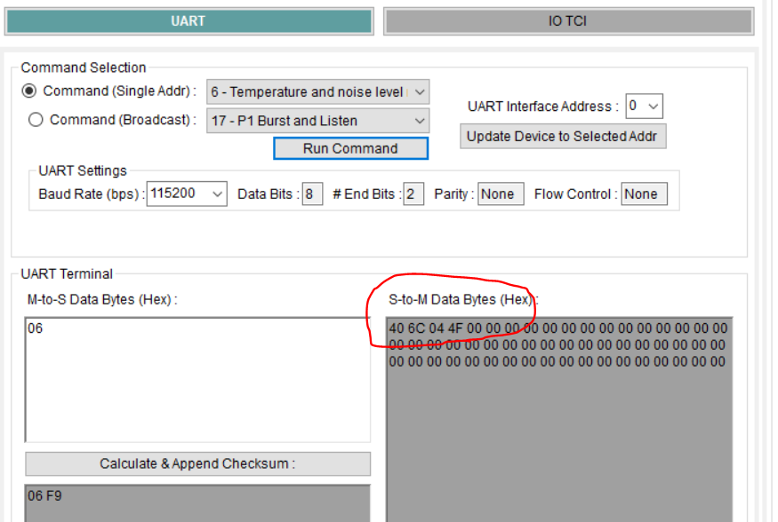 Resolved] BOOSTXL-PGA460: data monitor output from uart - Sensors