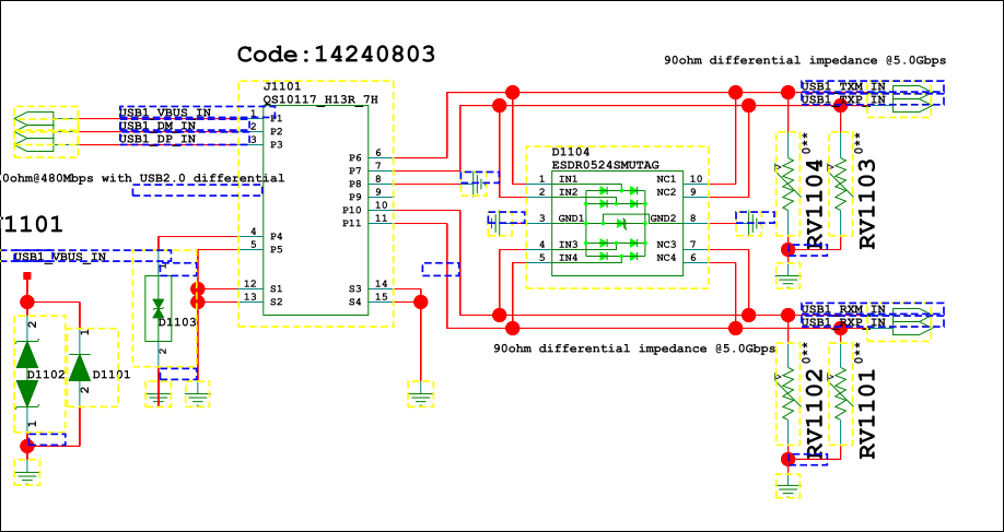 hd3ss6126 schematic review consumer computing forum consumer rh e2e ti com USB 3 0 Plug Diagram USB Audio Interface Schematic