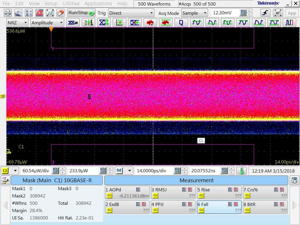 Resolved] ONET1131EC: ONET1130EC test issue  - Interface