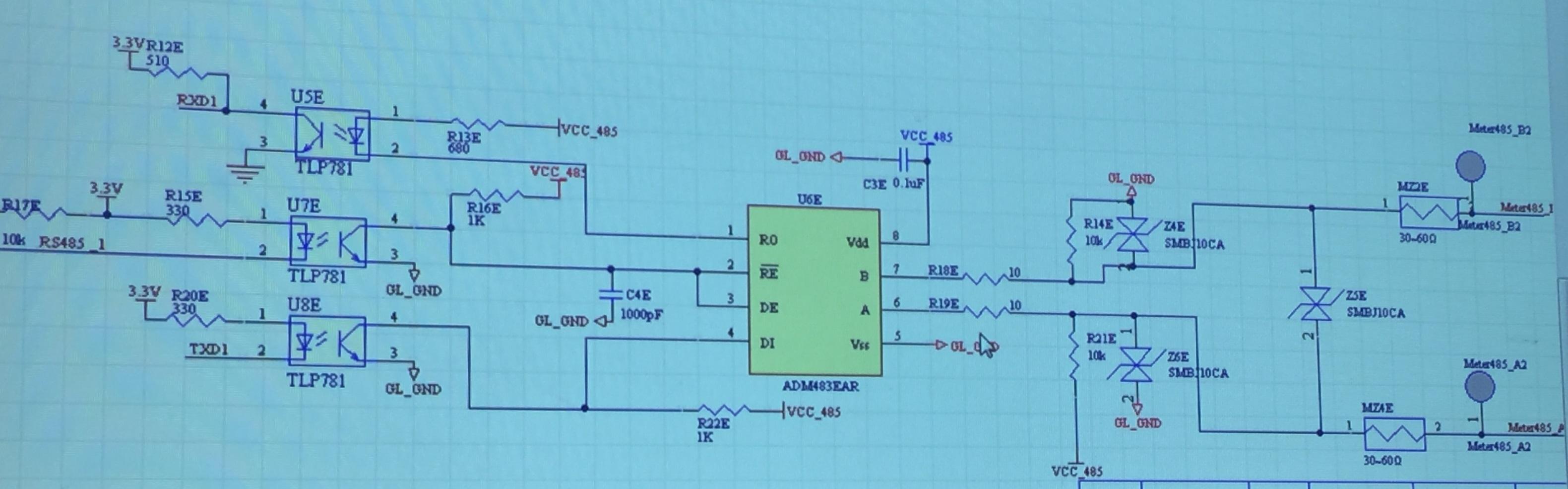 RS485 to replace Max13085 - Interface Forum - Interface - TI E2E ...