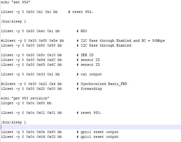 Resolved] DS90UB954-Q1: DS90UB953-DS90UB954 abnomarl clolr