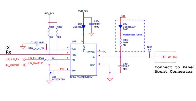 Resolved] SN65HVDA100-Q1: LIN Bus communication Error