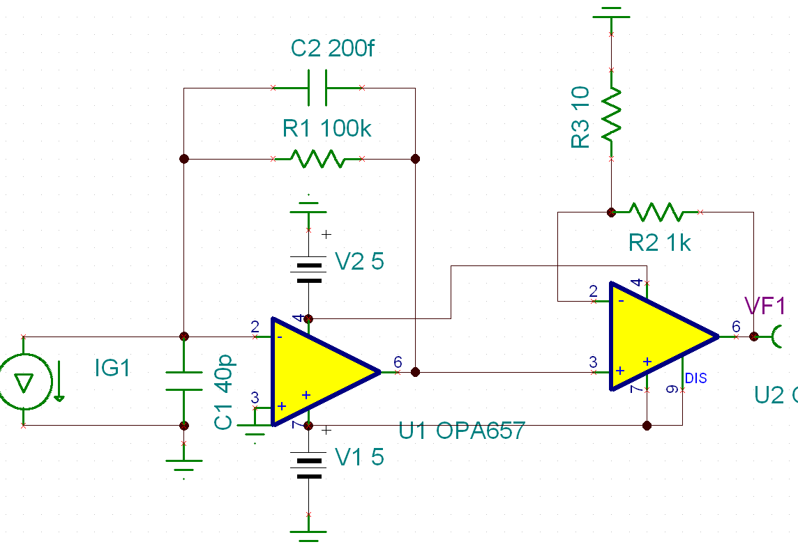 Schematic Amplifier Gain 5 Diagrams 5x2 W Stereo Power Circuit Based On Ba5417 Opa847 Opa657 2 Stage Transimpedance High Schematics