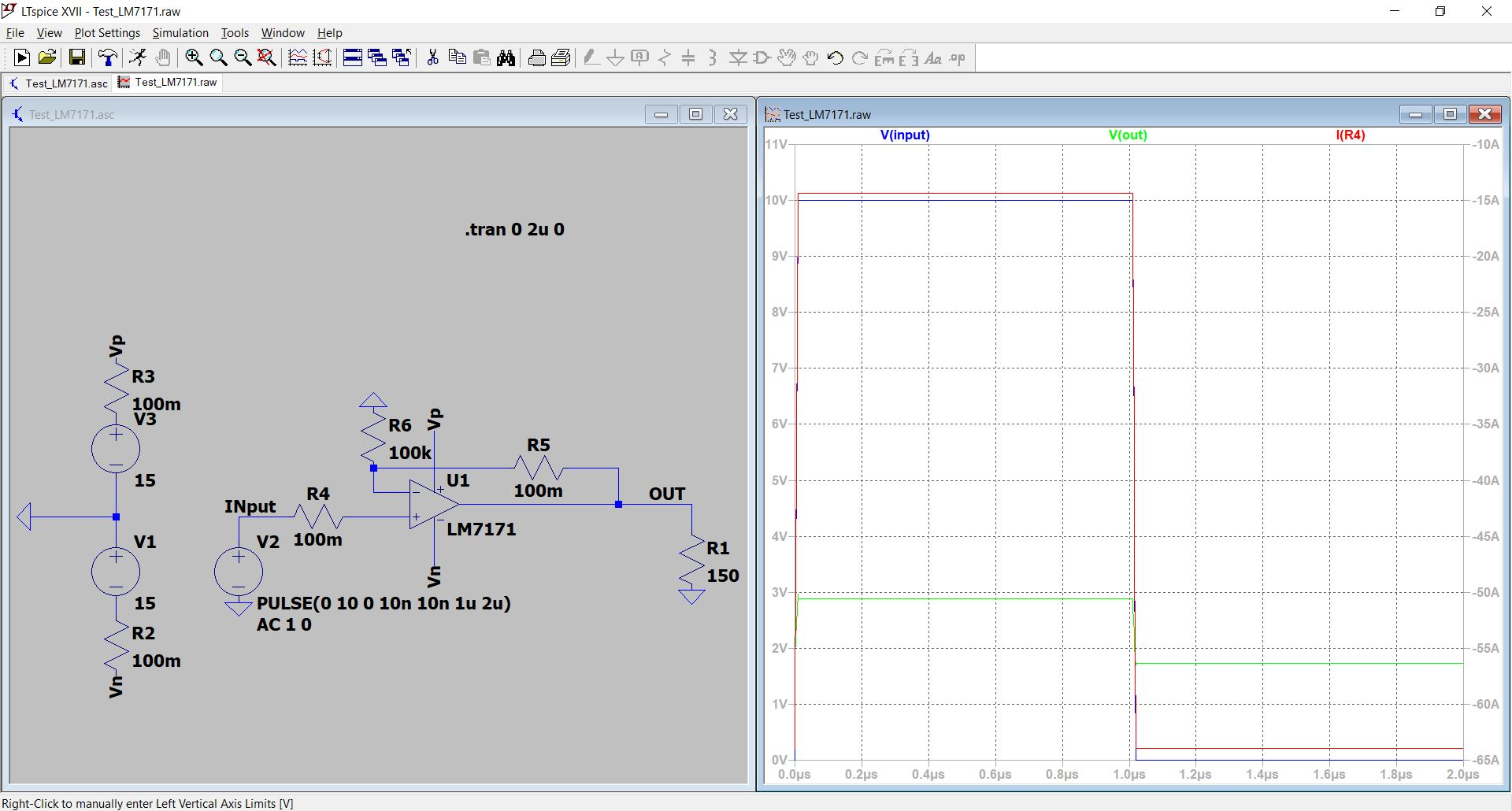 LM7171: Simulation with LTspice - Amplifiers forum