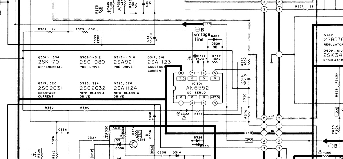 Resolved] OPA2132: DC Servo OpAmp Replacement in Technics Amplifier