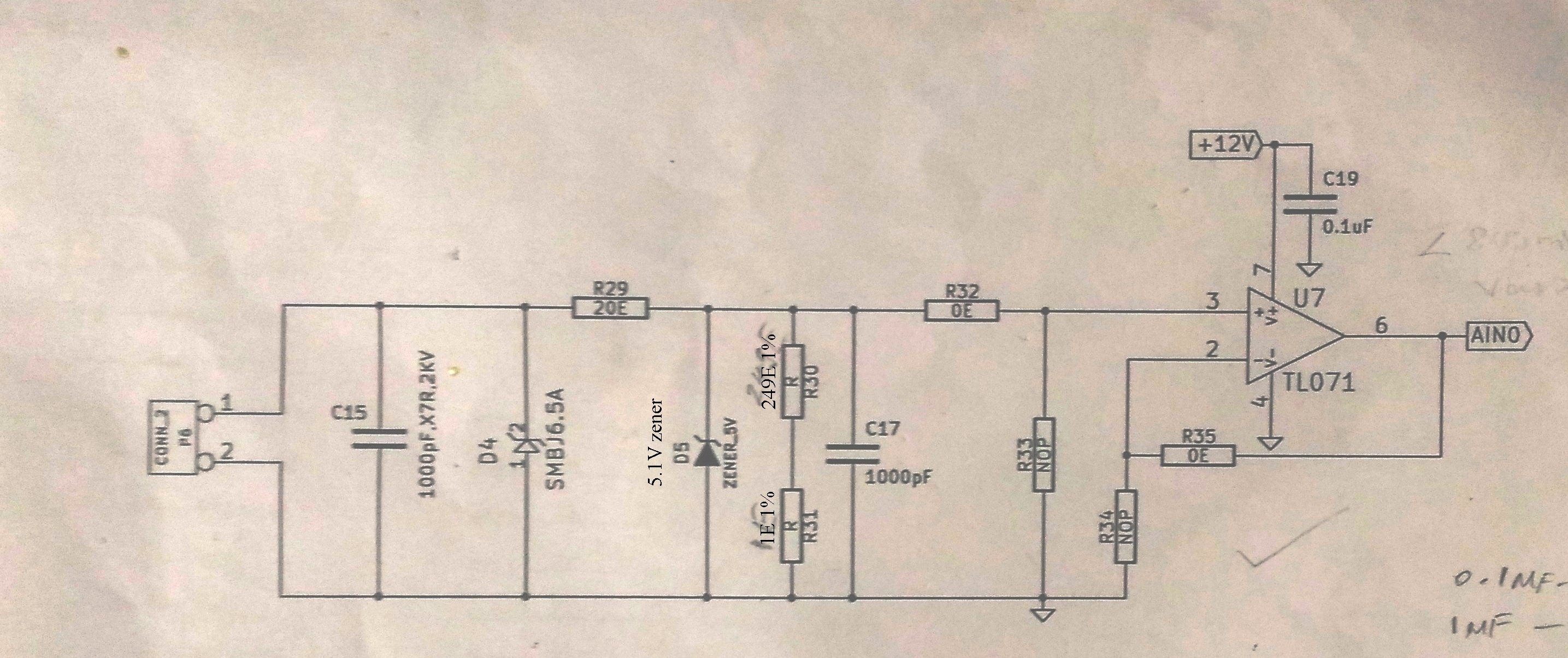Schematic Inputs And 4 Diagrams Seven Segment Circuit Electrocircuit Schema Datasheet Resolved Tl031cd Is Misbehaving In Voltage Follower Mode Any