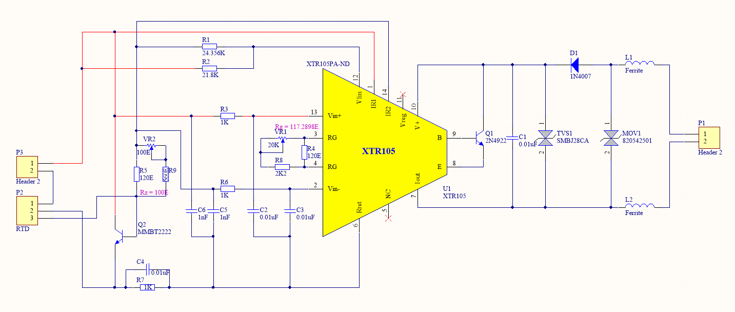 Resolved Xtr105 Fails With Eft Test Amplifiers Forum Highspeed Amplifier Circuits Analog Wire Blogs Ti E2e Community Udhay