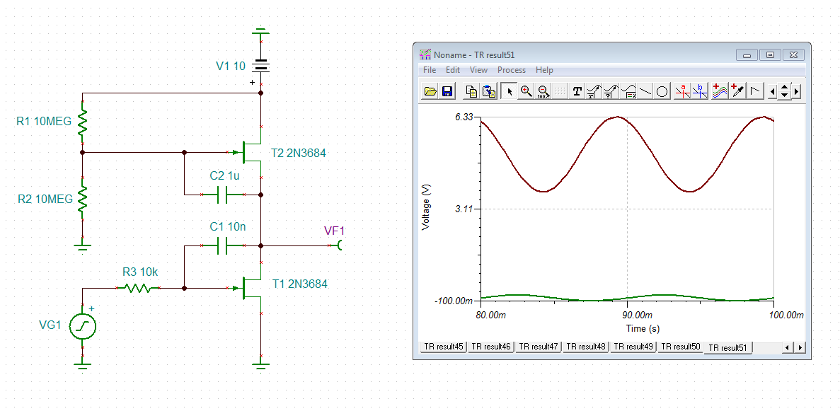 TL082: Need to make a DC integrator to integrate a slow varying DC