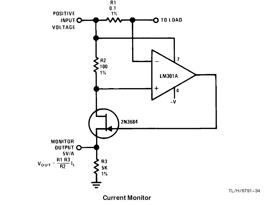 weird behavior in current monitor circuit - amplifiers forum - amplifiers