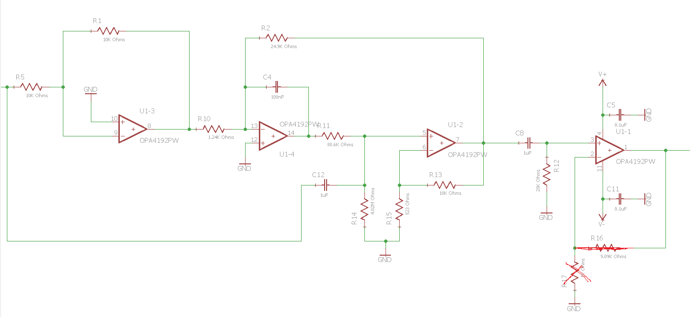 Resolved Opa4192 Bainter Notch Filter Real Design Q Amplifiers Circuit Diagram In Reply To Thomas Kuehl