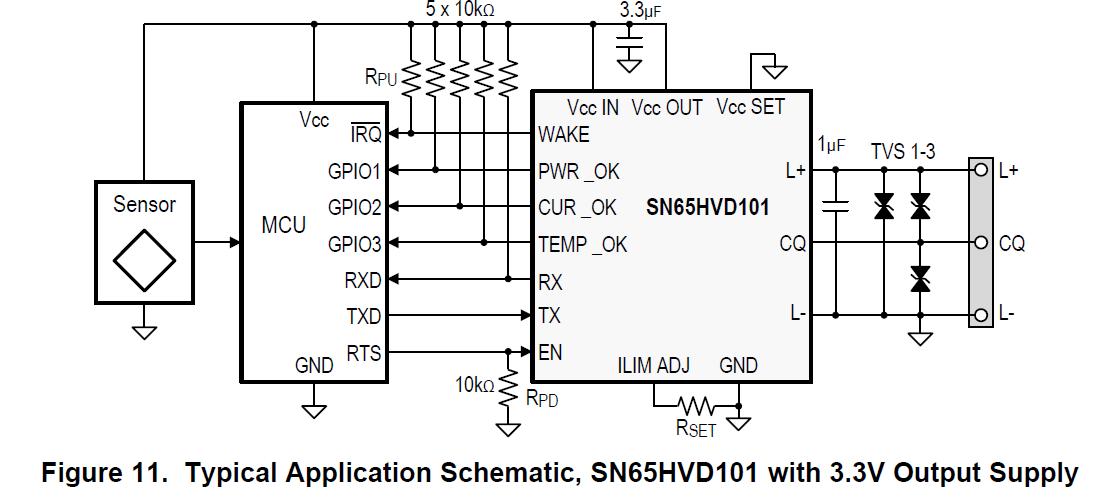 resolved  sn65hvd102 rx  tx pin