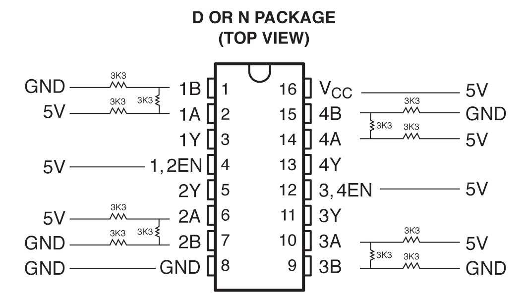 resolved  sn75175 current information