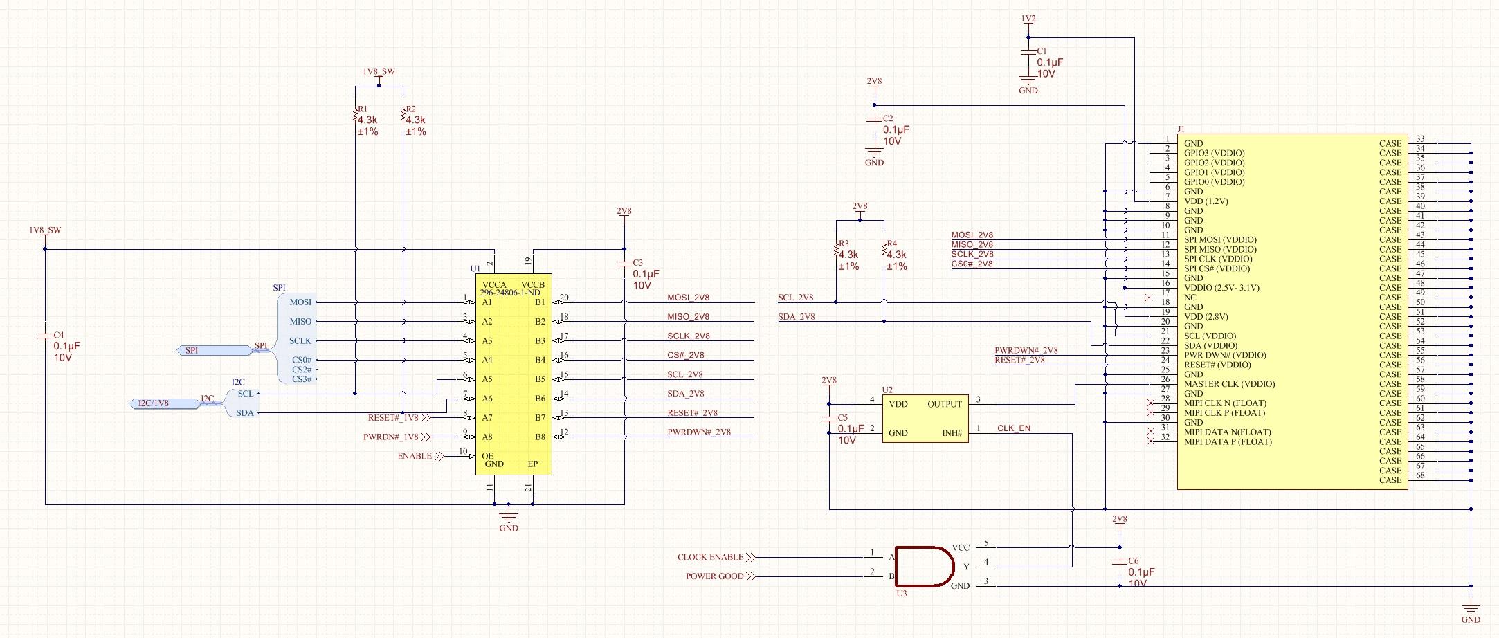 Txs0108e Translation Of I2c Bus Problems Logic Forum Ti Voltage Level Shifter Circuit Schematic