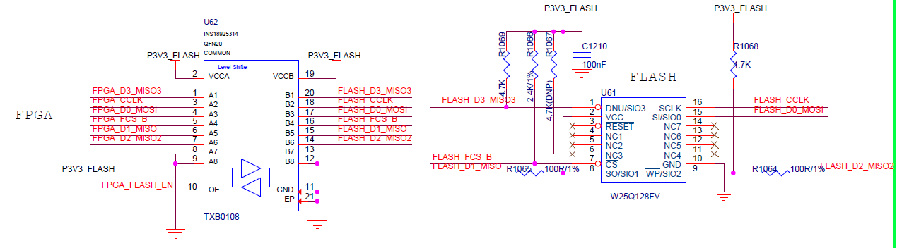 TXB0108: Can't read Flash_6MBPS_6MHz Clock - Logic forum