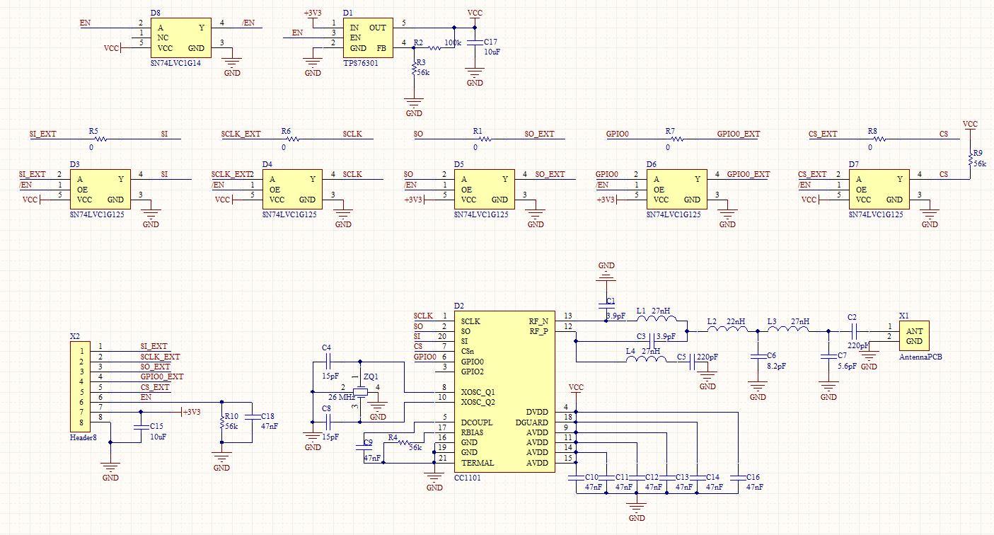 CC1101: CC1101 burned out - Sub-1 GHz forum - Sub-1 GHz - TI E2E