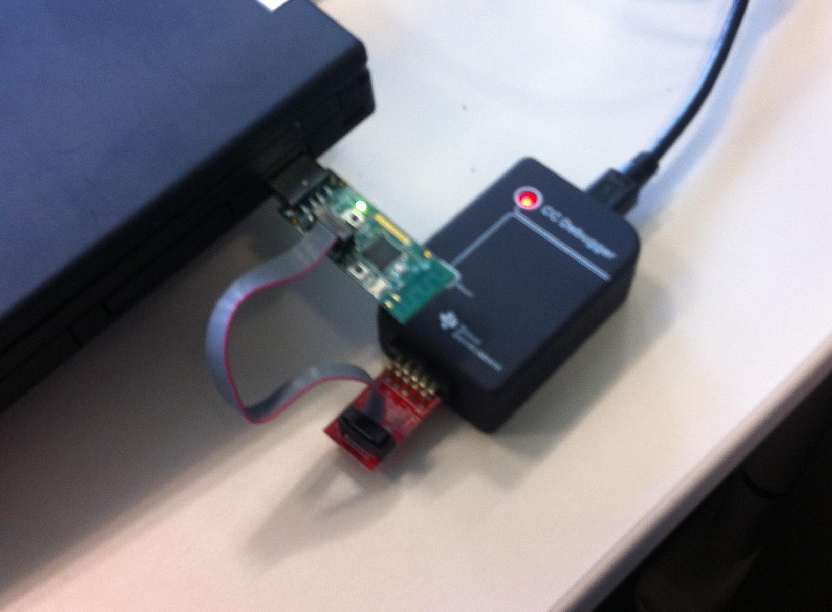 No chip detected with CC Debugger - Zigbee & Thread forum - Zigbee
