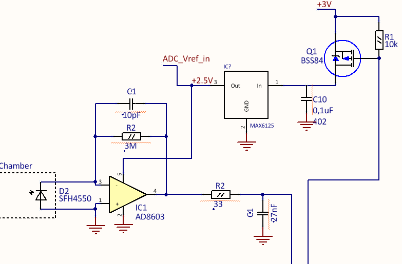 Resolved] MSP430F5328: AVcc voltage spikes influence voltage at ADC