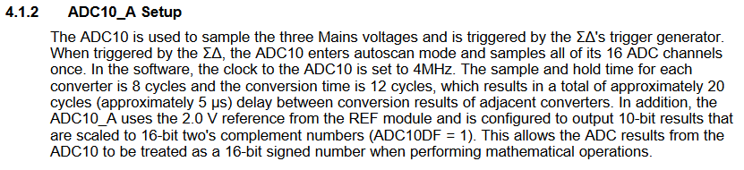 Resolved] MSP430F67641A: SD24B and ADC10 Syncronization in