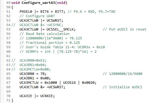 Resolved] MSP432 UART Receive Problem - MSP low-power
