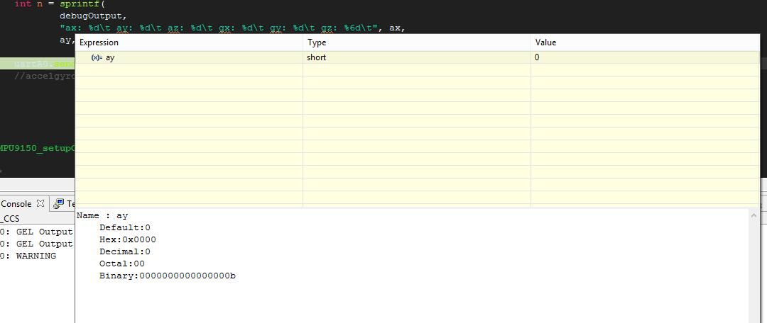 CCS/MSP432P401R: Interfacing with IMU 9250/9255/6500 - I2C - MSP low