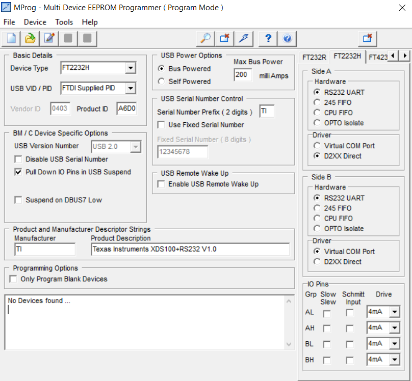 Rs232 From C Program