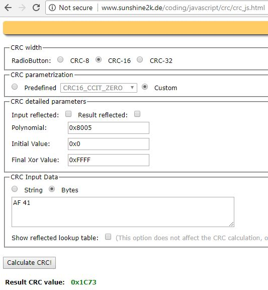 Resolved] TMS320F28377D: VCU2 CRC vs manual calculation - C2000