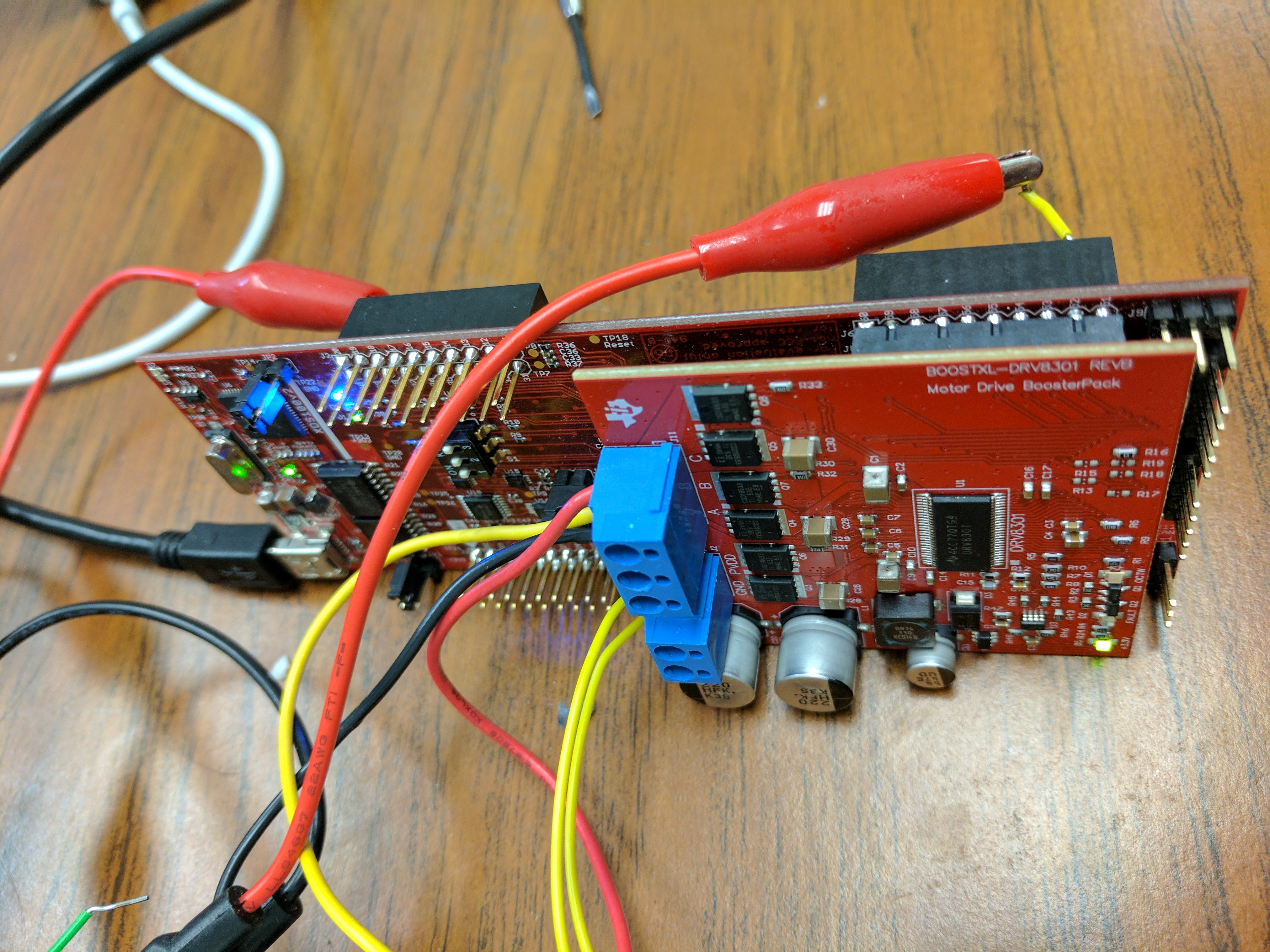 Ccs Launchxl F28069m Interfacing With Boostxl Drv8301 Using Pwm Electronics Forum Circuits Projects And Microcontrollers I Am Working Through Instaspin Labs Users Guide V1016 Lab1a Blinking Leds Is But Stuck On 1b Where A Motor Suppose