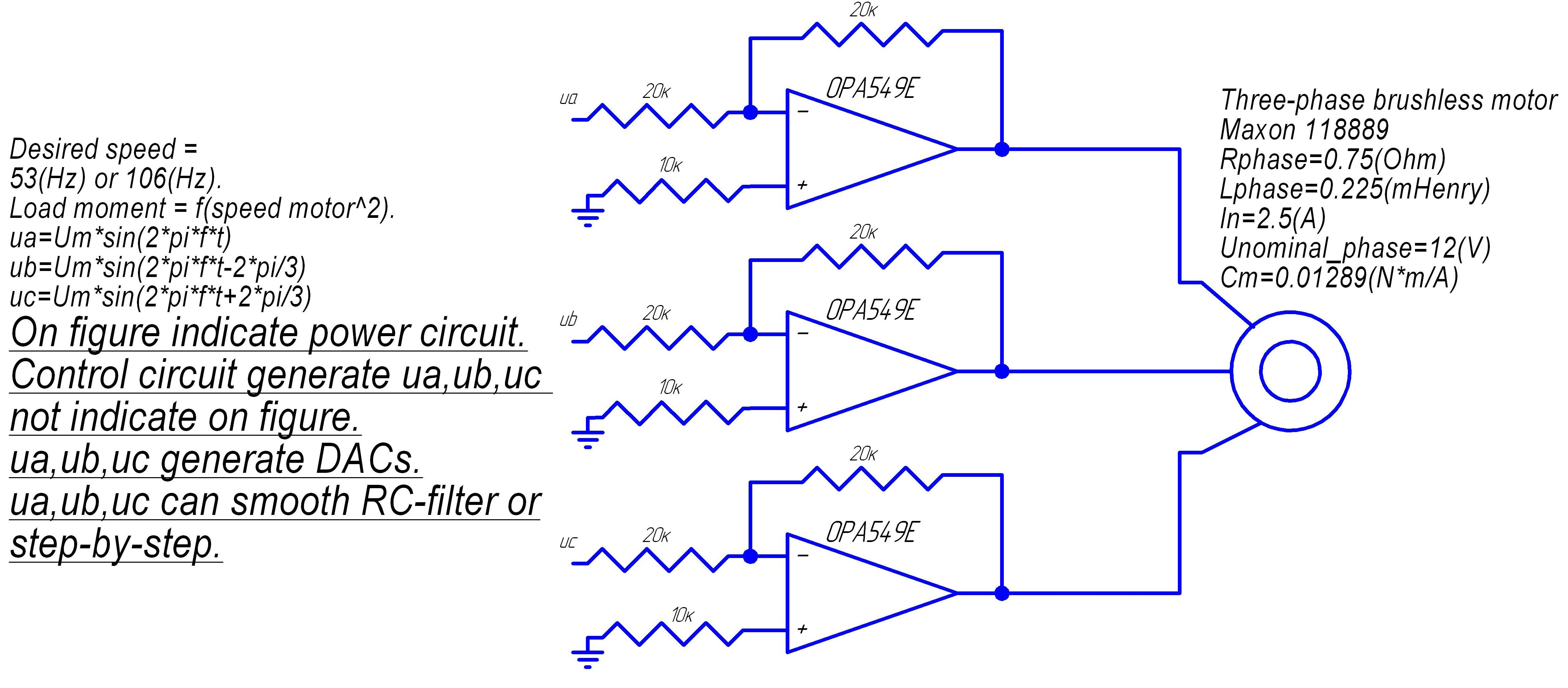 Sg3525a Drive Circuit Calculate Pwm Dc Motor Driver Control Sg3525 Projects Opa549 Scheme Correcting Op Amp Three