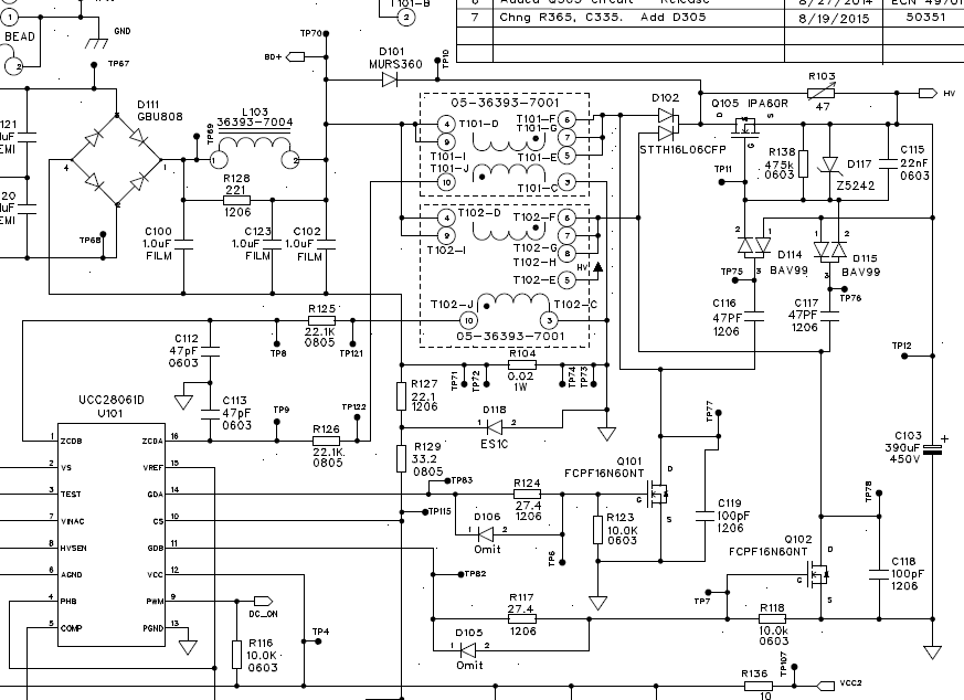 ucc28061  ucc29061 rogue gate drive pulse unit runs in