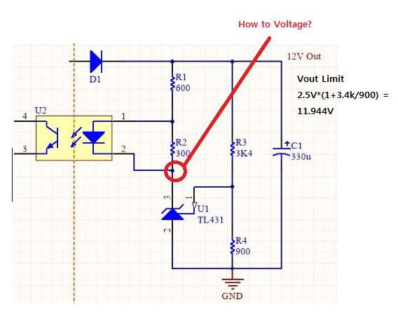 Resolved] TL431: TL431 Voltage? - Power management forum - Power