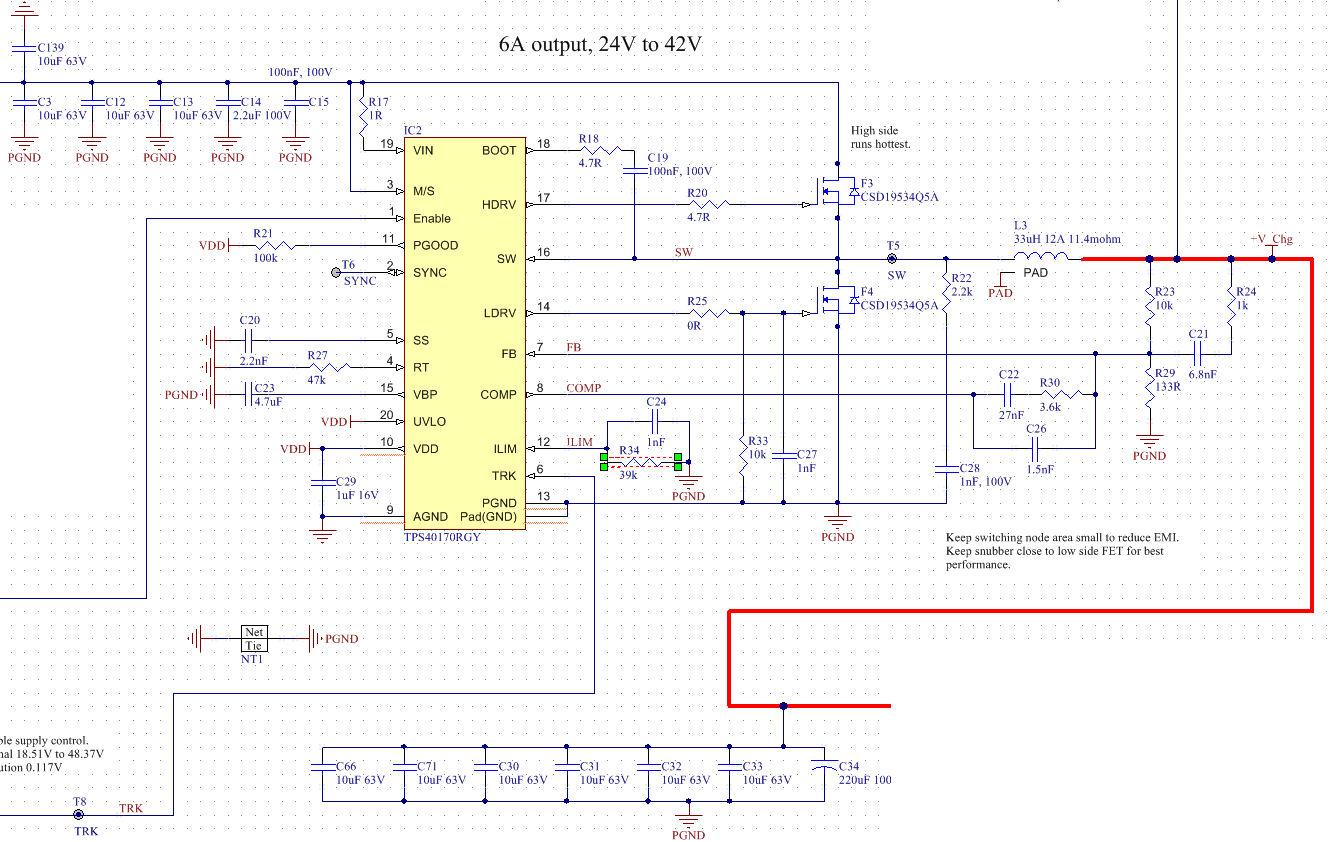 Resolved Tps40170 Startup Overcurrent Power Management Supply Non Isolated Dc Forum Ti E2e Vin
