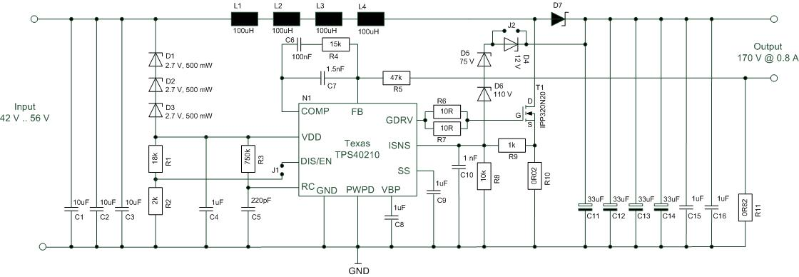 Tps40210-q1_15 datasheet(pdf) texas instruments.