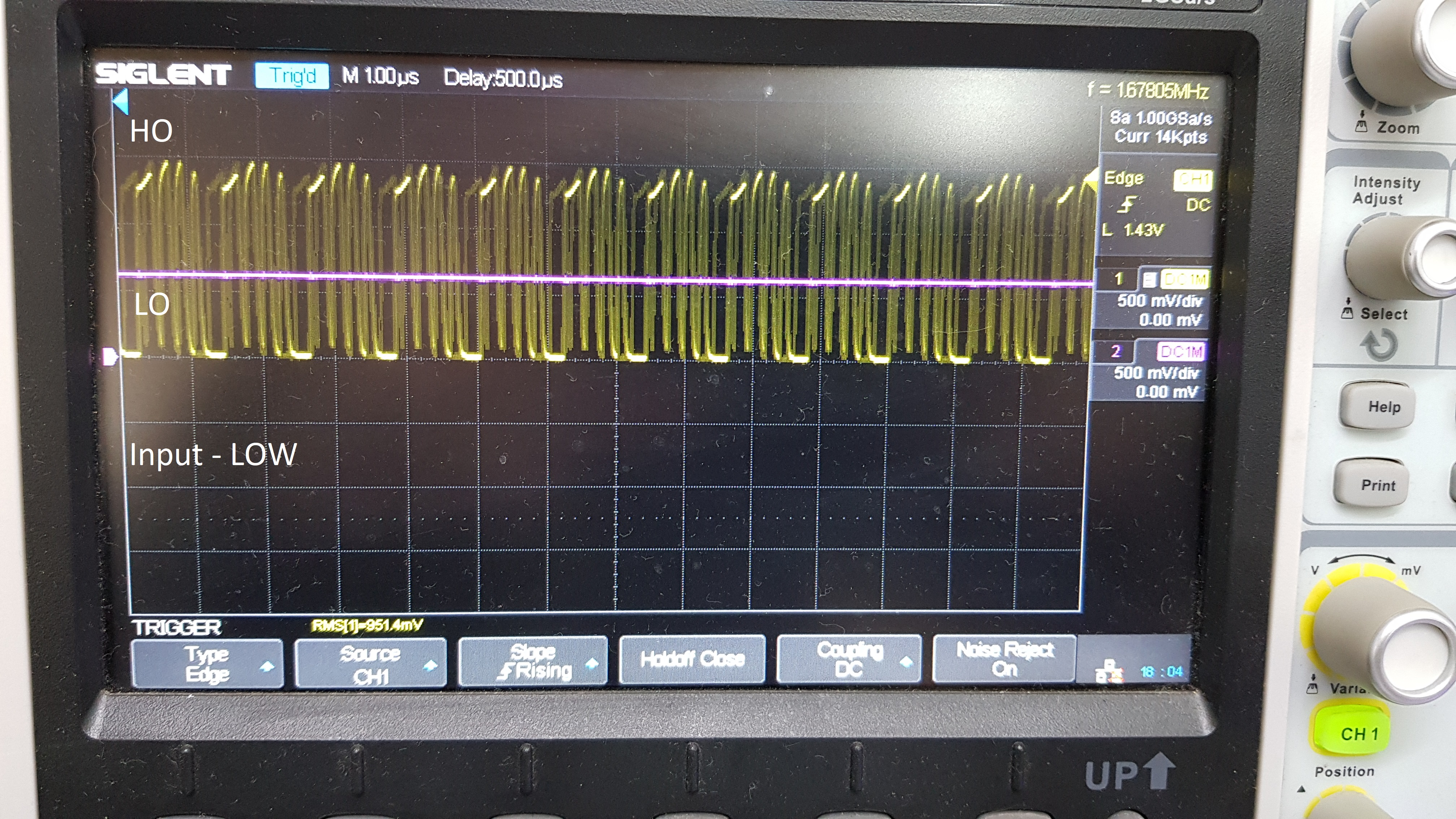 Lm5104 To Work As A Switch Not With Pwm Power Management Forum Supply Non Isolated Dc Ti E2e Vin After This Oscilation Stopped I Got
