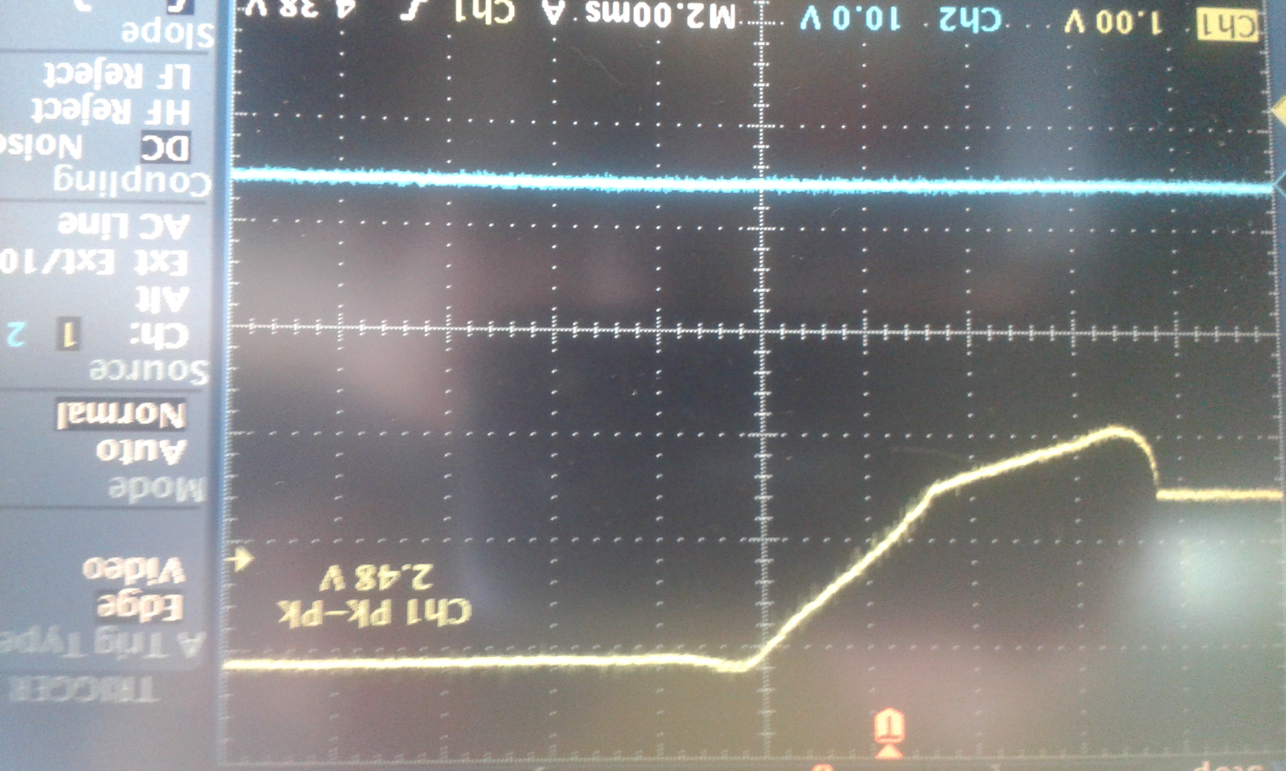 Tps6123x Burn Power Management Forum Ti E2e Supply Non Isolated Dc Vin Current Coil Is Difficult To Measure So I Made Measured Voltage Droop On Track From Accu Chip