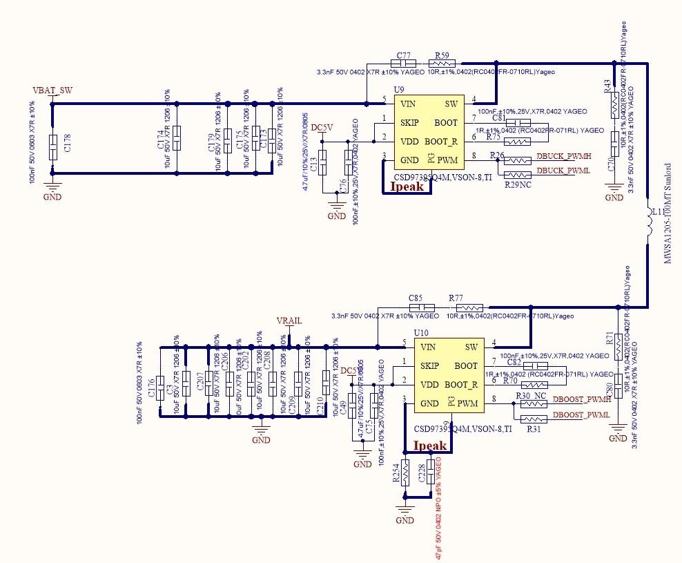 Csd97395q4m Can Support Buck Boost Circuit Power 1ch2ch3ch4ch As U9pwmu10pwmu10swu9sw