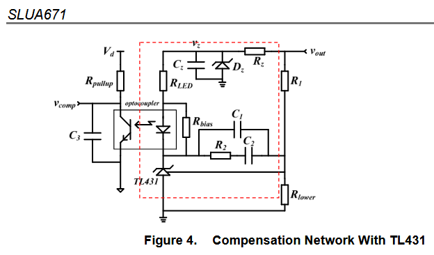 Resolved] LMV431: Transfer function of TL431 and opto coupler